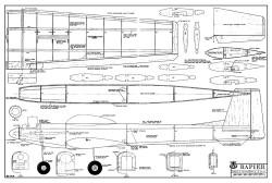 Rapier model airplane plan