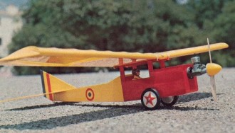 Real Thing model airplane plan