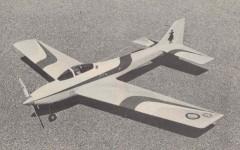 Revenger model airplane plan