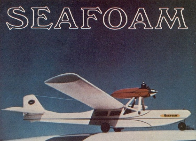 Seafoam model airplane plan