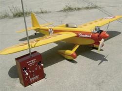 Shoestring model airplane plan
