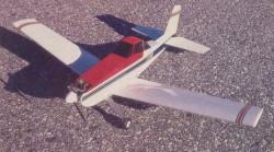 Simple Duster model airplane plan