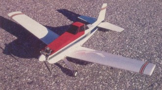 Simple Duster model airplane plan