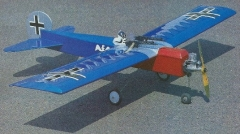 Sort-A-Fokker model airplane plan