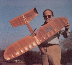 Electric Yogi model airplane plan