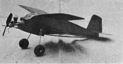 Gnat model airplane plan