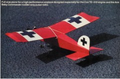 The Littlest Stick model airplane plan