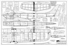 Tokyo Echo model airplane plan