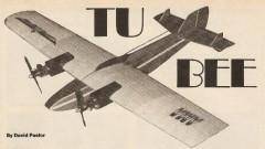 Tu Bee model airplane plan