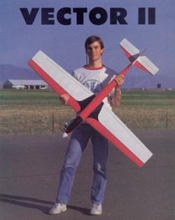 Vector II model airplane plan