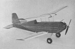 Wild Child model airplane plan