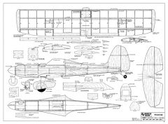 Wildfire model airplane plan