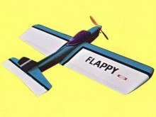 Flappy model airplane plan
