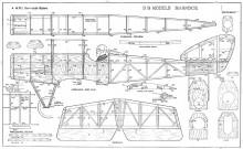 Mannock model airplane plan