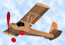 Poullin JP30 model airplane plan