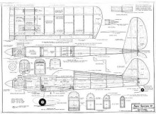 SuperSportster model airplane plan