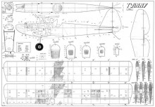 Twinny Svenson model airplane plan