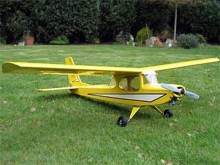 Channy model airplane plan