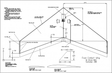 Combat Wing model airplane plan