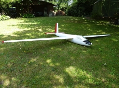 SZD-21-2B (KOBUZ 3) model airplane plan