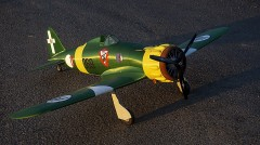 "MACCHI MC.200 ""SAETTA"" model airplane plan"