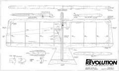 5th Revolution model airplane plan