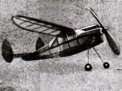 AM Cabin Duration model airplane plan