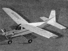 Aermacchi-Lockheed 60 Santa Maria model airplane plan
