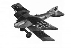 Albatros DV model airplane plan