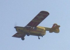 Auster B4 Ambulance  model airplane plan