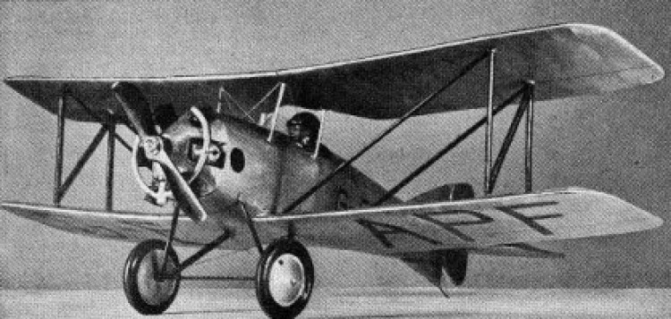 Austin Whippet model airplane plan