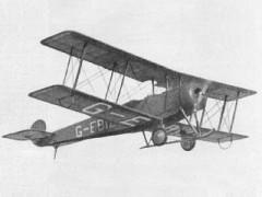 Avro 504K model airplane plan