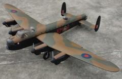 Avro Lancaster model airplane plan