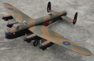 Avro Lancaster model airplane plan