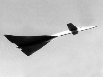 B-70 Valkyrie model airplane plan