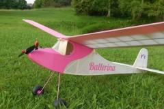Ballerina model airplane plan