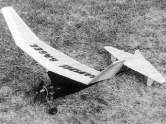 Banshee Babee model airplane plan