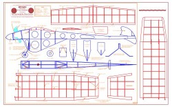 Binkie model airplane plan
