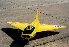 Boulton Paul P 111A model airplane plan