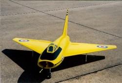 Boulton Paul P 111A model airplane plan
