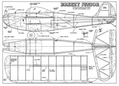 Breezy Junior model airplane plan