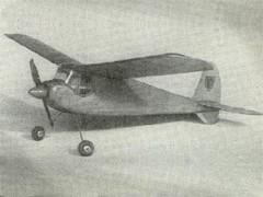 Cherub model airplane plan