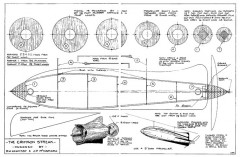 Crimson Streak model airplane plan