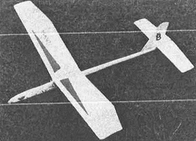 Crofter model airplane plan