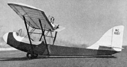Curtiss-Wright CW1 Junior model airplane plan