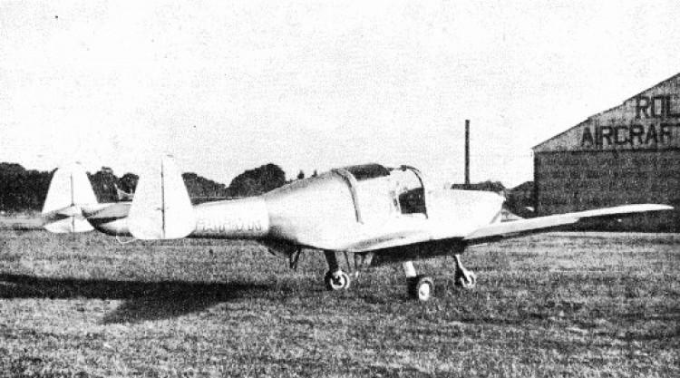 Cygnet model airplane plan