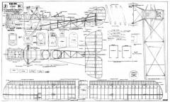 DH.9A. model airplane plan