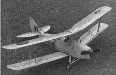 DH Tiger Moth model airplane plan