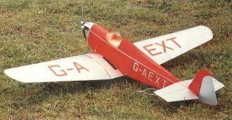 Dart Kitten model airplane plan