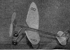 Doodlebug model airplane plan